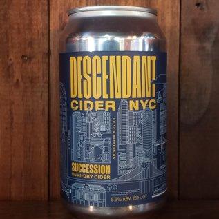 Descendant Cider Company Descendent-Succession Cider, 5.5% ABV, 12oz Can