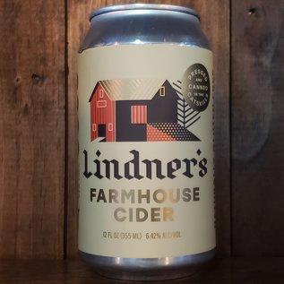 Lindner's Farmhouse Cider, 6.42% ABV, 12oz Can