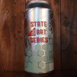 Industrial Arts Brewing Company Industrial Arts-STATE OF THE ART: Citrus Wit, 4.9% ABV, 16oz Can
