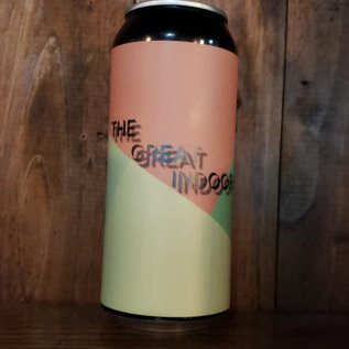 Pipeworks Brewing Company The Great Indoors Saison, 5.3% ABV, 16oz Can