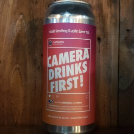 Mast Landing Brewing Co. Camera Drinks First! DIPA, 8% ABV, 16oz Can