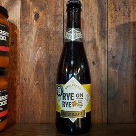 Boulevard Boulevard-Rye On Rye With Maple Syrup Aged In Rye Whiskey Barrels 2020 13.2% ABV, 12 oz Bottle