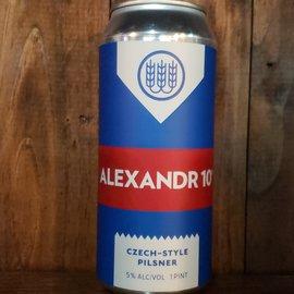Schilling Alexandr 10 Pilsner, 5% ABV, 16oz Can