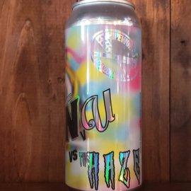 Pipeworks Brewing Company NvU vs The Haze DIPA, 8% ABV, 16oz Can