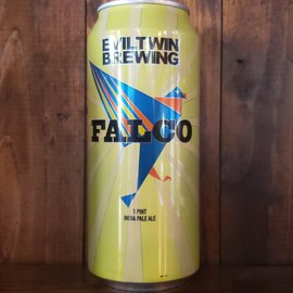 Evil Twin Brewing Falco IPA, 7% ABV, 16oz Can