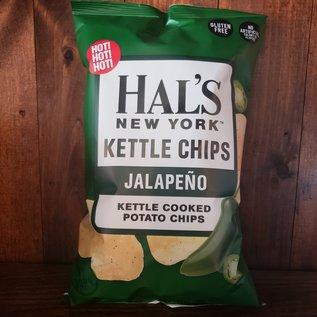 Hal's Kettle Chips Hal's New York Jalapeno Kettle Potato Chips 5 oz