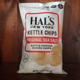 Hal's New York Original See Salt Kettle Potato Chips 5 oz