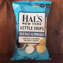 Hal's New York Sea Salt & Vinegar Kettle Potato Chips 5 oz