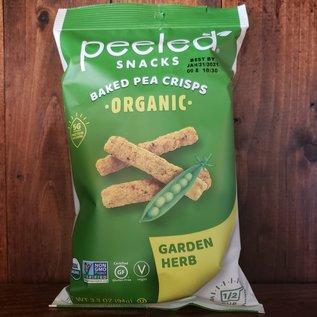 Peeled Organic Peeled Snacks Organic Baked Pea Garden Herb 3.3 oz