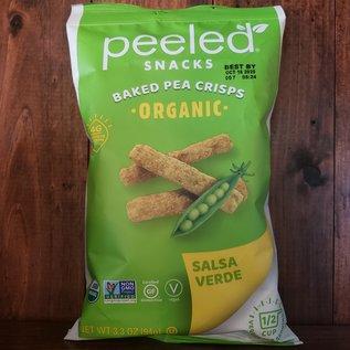 Peeled Organic Peeled Snacks Organic Baked Pea Crisps Salsa Verda 3.3 oz