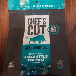 Chef's Cut Real Jerky Co. Chef's Cut Smoked Beef Asian Style Teriyaki Real Jerky 2.5 oz