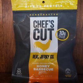 Chef's Cut Real Jerky Co. Chef's Cut Smoked Chicken Breast Honey Barbecue Real Jerky 2.5 oz