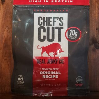 Chef's Cut Real Jerky Co. Chef's Cut Smoked Beef Original Recipe Real Jerky 2.5 oz
