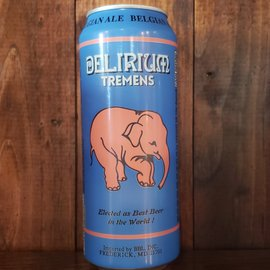 Huyghe Delirium Tremens Golden Ale 8.5% 16.9 oz Can