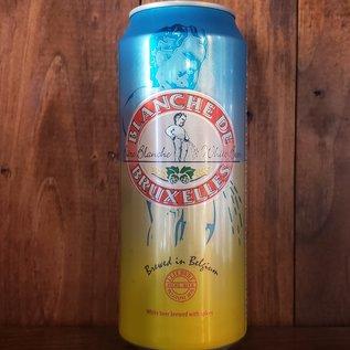 Blanche De Bruxelles Blond Ale4.9% ABV 16.9 oz Can