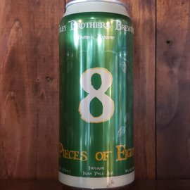 Pieces of 8 Double IPA 8% ABV 16 oz Can