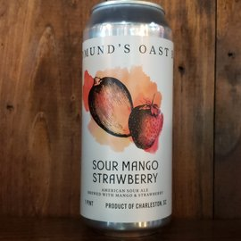 Edmund's Oast Brewing Co Sour Mango Strawberry, 6.5% ABV, 16oz Can