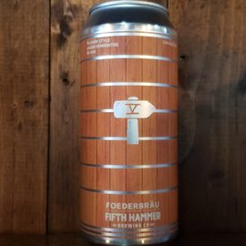 Fifth Hammer Brewing Foederbrau Pilsner, 5% ABV, 16oz Can