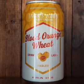 Jack's Abby Craft Lagers Blood Orange Wheat, 4% ABV, 12oz Can