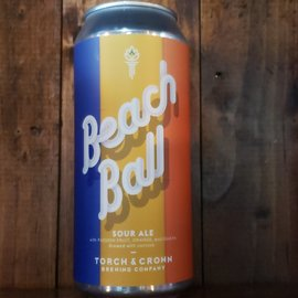 Torch & Crown Brewing Company Torch & Crown-Beach Ball Sour Ale, 6% ABV, 16oz Can