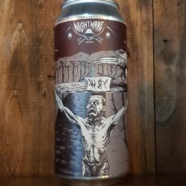 Nightmare Brewing Crucifixion DIPA, 10.6% ABV, 16oz Can