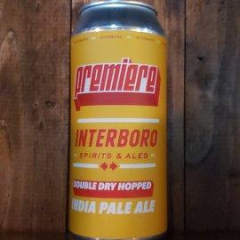 Interboro Premiere DDH IPA, 6% ABV, 16oz Can