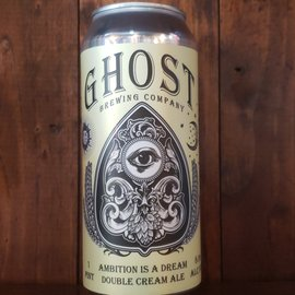 Ghost Brewing Company Ambition Is A Dream Double Cream Ale, 8% ABV, 16oz Can