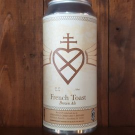 Lickinghole Creek Craft Brewery French Toast Brown Ale, 8% ABV, 16oz Can
