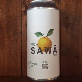 Japas Cervejaria Japas-Sawā Yuzu Sour Ale, 4.7% ABV, 16oz Can