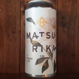 Japas Cervejaria Matsurika Pilsner, 5% ABV, 16oz Can