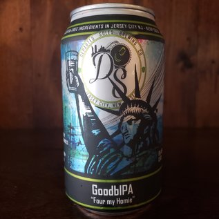 Departed Soles Brewing Company GoodbIPA Gluten Free IPA, 6% ABV, 12oz Can