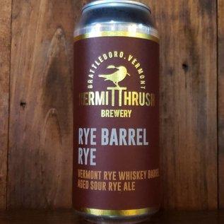 Hermit Thrush Brewery Hermit Thrush-Rye Barrel Rye Sour Ale, 8% ABV, 16oz Can