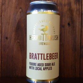 Hermit Thrush Brewery Hermit Thrush-Brattlebeer Sour Ale, 5.2% ABV, 16oz Can
