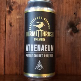 Hermit Thrush Brewery Athenaeum Sour Ale, 5.2% ABV, 16oz Can