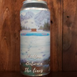 Timber Ales Fallen Between The Lines NE IPA, 7% ABV, 16oz Can