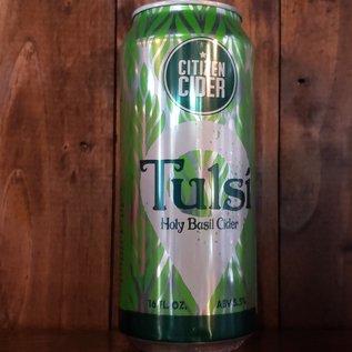 Citizen Cider Tulsi Cider, 5.5% ABV, 16oz Can