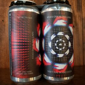 Aslin Beer Company Don't Dial In And Focus IPA, 5.5% ABV, 16oz Can
