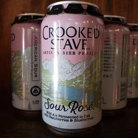 Crooked Stave Brooklyn Cider House-Sour Rose, 4.5% ABV, 12oz Can