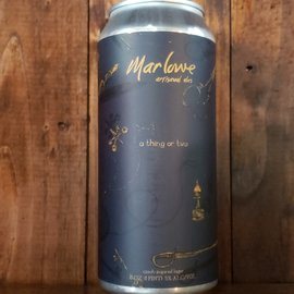 Marlowe Artisanal Ales A Thing Or Two Lager, 5% ABV, 16oz Can