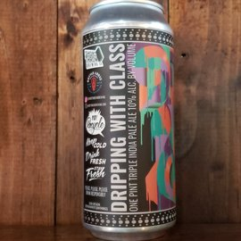 Short Throw Brewing Co Dripping With Class Triple IPA, 10% ABV, 16oz Can,