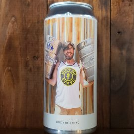 Evil Twin NYC Body By ETNYC Sour Ale, 6% ABV, 16oz Can