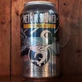 Ghostfish Brewing Company Meteor Shower Blonde Ale, 4.5% ABV, 12oz Can