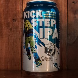 Ghostfish Brewing Company Kick Step IPA, 5.5% ABV, 12oz Can