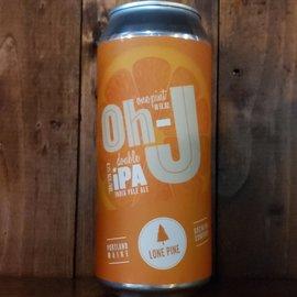 Lone Pine Brewing Company Oh-J NE DIPA, 8.1% ABV, 16oz Can