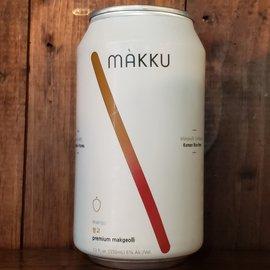 Makku Mango Korean Rice Beer, 6% ABV, 12oz Can