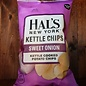 Hal's Kettle Chips Hal's Sweet Onion Kettle Chips, 5.5oz Bag