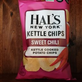 Hal's Kettle Chips Sweet Chili Kettle Chips, 5oz Bag