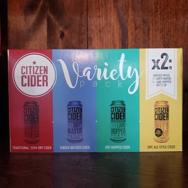 Citizen Cider Citizen Cider Variety Pack, 8 Pack/ 16oz Cans