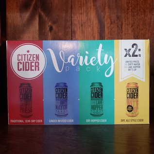 Citizen Cider Citizen Cider Variety Pack, 8 Pack/ 16oz Cans