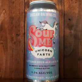 DuClaw Brewing Company Sour Me Unicorn Farts Sour Ale, 5.5% ABV, 16oz Can